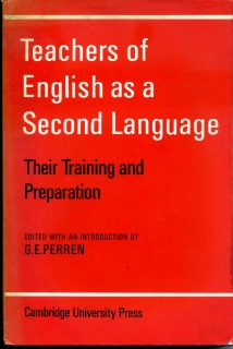 Teachers of english as a second language -anglicky